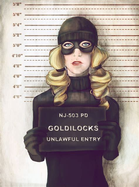 Mugshots Of Fairytale Heroines Tell A Different Story