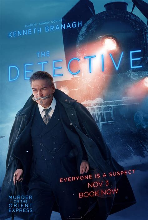 Everyone is a suspect in Murder on the Orient Express